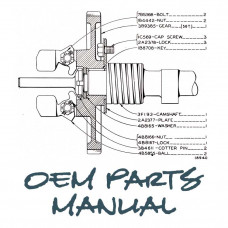 Caterpillar 325 Excavator Parts Manual (S/N 8YK1 +)