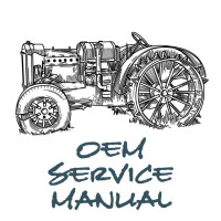 New Holland TC25D Tractor Service Manual