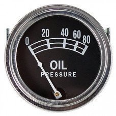 Case Universal Oil Pressure Gauge (0 - 80 PSI) (ABC005)