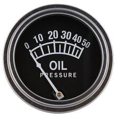 John Deere Universal Oil Pressure Gauge (0 - 50 PSI) (ABC082)