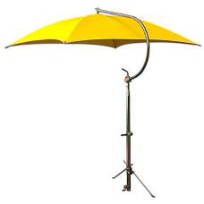 Massey Ferguson Deluxe Yellow Umbrella with Brackets (ABC2369)