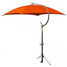 Allis Chalmers Deluxe Orange Umbrella with Brackets (ABC2372)