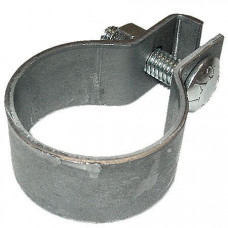 Ford 1.75 inch (1-3/4 inch) Muffler Clamp (bare finish) (ABC360)