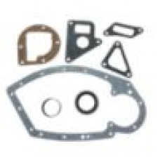 Farmall 7 Piece Crankcase Front Cover Gasket Set wtih Seal Saver (IHS3260)