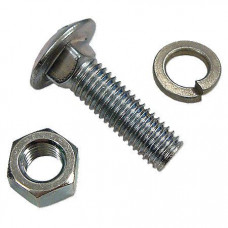 International Front Wheel Weight Carriage Bolt, Washer And Nut Kit
