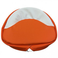 Case Orange and White Seat Pad - 21 inch (MIS3204)