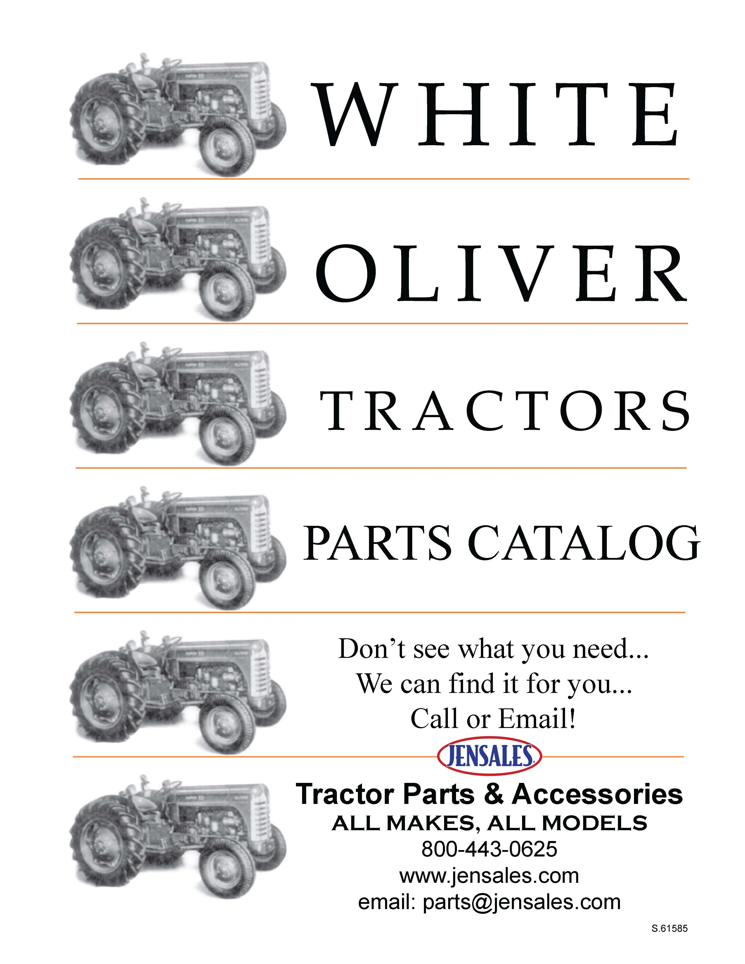 They are supplemental catalogs of Parts not yet available on our website,  but can be ordered by phone. Please call for orders and questions.