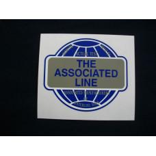 Associated Engine Associated Mylar Cut Decals (AS100)