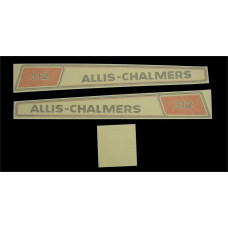 Allis Chalmers 312 Vinyl Cut Decal Set (GAC340S )