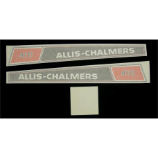 Allis Chalmers 410 Vinyl Cut Decal Set (GAC316S )