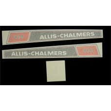 Allis Chalmers 414 Vinyl Cut Decal Set (GAC342S )