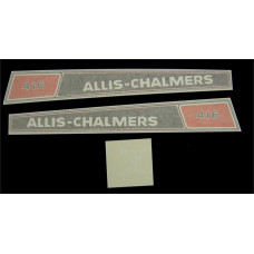Allis Chalmers 416 Vinyl Cut Decal Set (GAC333S )