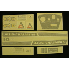 Allis Chalmers B-12 Vinyl Cut Decal Set (GAC305S )