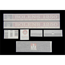 Bolens 1250 Vinyl Cut Decal Set (GBO309S )