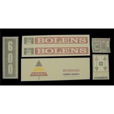 Bolens 600 Vinyl Cut Decal Set (GBO326S )