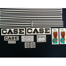 Case S Mylar Cut Decal Set