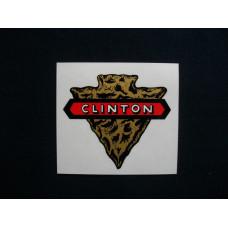 Clinton Engine Clinton (arrowhead) Mylar Cut Decals (CL100)