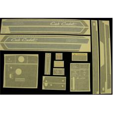 International Harvester Cub Cadet 1200 Vinyl Cut Decal Set (GCC327S )