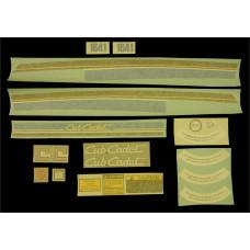 International Harvester Cub Cadet 1641 (screen) Vinyl Cut Decal Set (GCC370S )