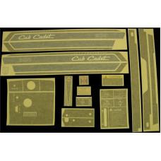 International Harvester Cub Cadet 800 Vinyl Cut Decal Set (GCC325S )
