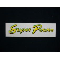 Super Power Engine Super Power (walk behind) Mylar Cut Decals (DB101)