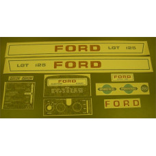 Ford LGT 125 Vinyl Cut Decal Set (GF325S )