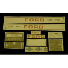 Ford LGT 145 Vinyl Cut Decal Set (GF326S )