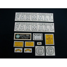 Farmall C Mylar Cut Decal Set (I124)