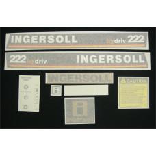 Ingersoll 222 hydriv Vinyl Cut Decal Set (GI302S )