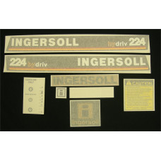 Ingersoll 224 hydriv Vinyl Cut Decal Set (GI303S )