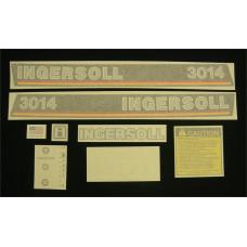 Ingersoll 3014 Vinyl Cut Decal Set (GI311S )