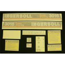 Ingersoll 3016 Power Steering Vinyl Cut Decal Set (GI330S )