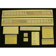 Ingersoll 3018 Power Steering Vinyl Cut Decal Set (GI331S )