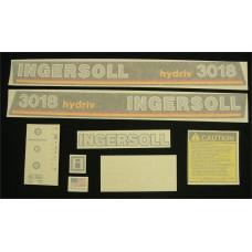 Ingersoll 3018 hydriv Vinyl Cut Decal Set (GI321S )