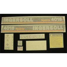 Ingersoll 4018 hydriv Vinyl Cut Decal Set (GI323S )