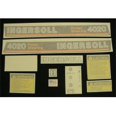 Ingersoll 4020 Power Steering Vinyl Cut Decal Set (GI335S )