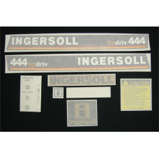 Ingersoll 444 hydriv Vinyl Cut Decal Set (GI305S )