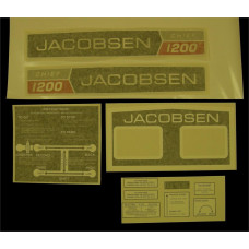 Jacobsen Chief 1200 Vinyl Cut Decal Set (GJ304S )