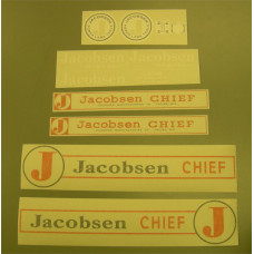 Jacobsen Chief (1963) Vinyl Cut Decal Set (GJ305S )
