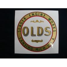 Olds Tractor Mylar Cut Decal (OL100)