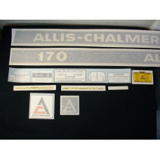 Allis Chalmers 170 Vinyl Cut Decal Set