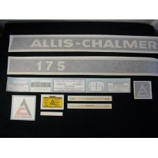 Allis Chalmers 175 Vinyl Cut Decal Set