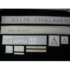 Allis Chalmers One-Seventy Vinyl Cut Decal Set
