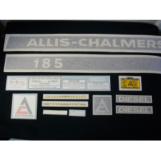 Allis Chalmers 185 diesel Vinyl Cut Decal Set