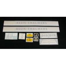 Allis Chalmers D15 Series II diesel w/chrome Vinyl Cut Decal Set
