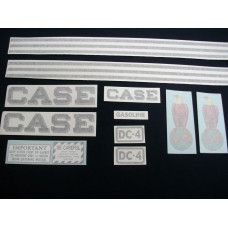 Case DC-4 Mylar Cut Decal Set