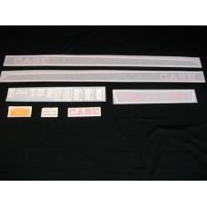 Case 430 gas Vinyl Cut Decal Set