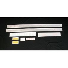 Case 430 Tripl-Range diesel Vinyl Cut Decal Set