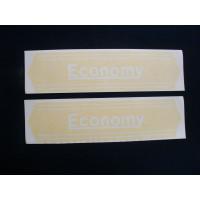 Economy Tractor (tractor) set of 2 Vinyl Cut Decal (VE2472)