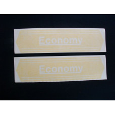 Economy Tractor (tractor) set of 2 Vinyl Cut Decal (VE2472)